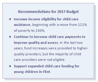 2017 budget recommendation
